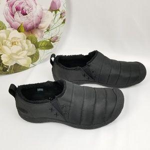 Keen Black Slip on Shoes